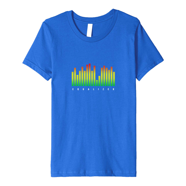 Tops & T-Shirts: Graphic Equalizer (Mens)