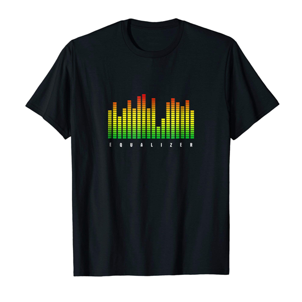 Tops & T-Shirts: Graphic Equalizer (Men, Women & Kids)