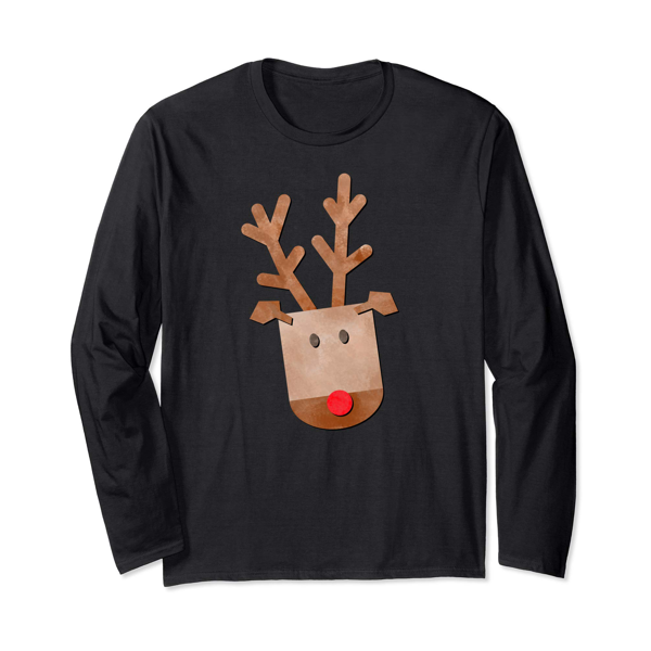 Tops & T-Shirts: Christmas Reindeer (Men, Women & Kids)